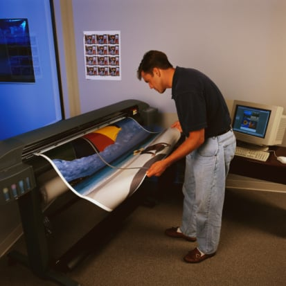 Laser Printer Large Size Printer Calibration